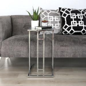 Elias Stainless Steel Sofa Table