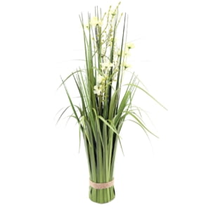 Hampton 63cm Standing Cream Flowers