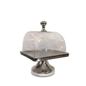Olivia Glass Dome Cake Plate